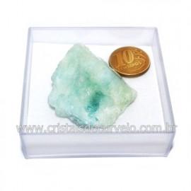 Aguas Marinhas No Estojo Berilo Natural Pedra Extra Cod 124017