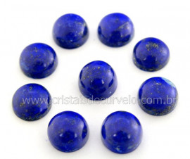 Lapis Lazuli Gema Lisa Pedra Natural 8ct 12mm Reff GL5415