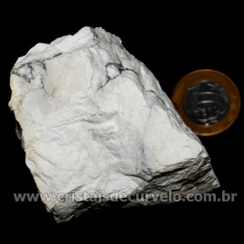 Howlita Pedra Natural P Colecionador e Esoterismo Cod 126805