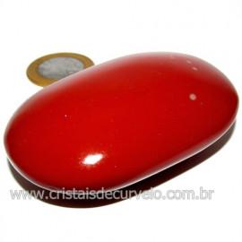 Sabonete Massageador Jaspe Vermelho Pedra Natural Cod 114291