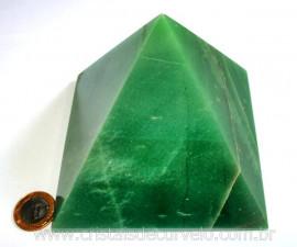 Pirâmide GRANDE Pedra Quartzo Verde Natural Queops cod PG2791