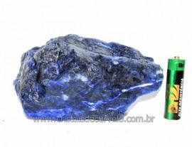Sodalita Azul Pedra Natural Garimpo Para Colecionar Cod SB5168