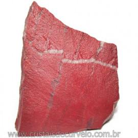 Dolomita Vermelha Pedra Natural Bruto de Garimpo Cod 116170