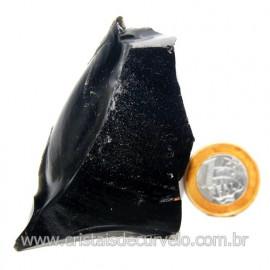 Obsidiana Negra Mineral Vulcanico Pedra Natural Cod 123968