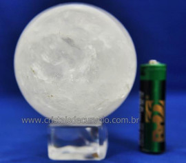 Bola Cristal Boa Qualidade Esfera Pedra Natural Cod 110636