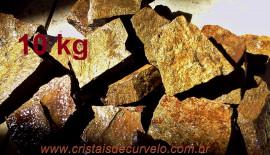 BRONZITA Pedra Bruto Pra Lapidar Pacote Atacado 10 kg