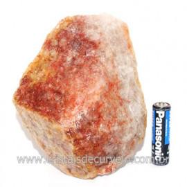 Hematoide Vermelho Natural Quartzo Cristalizado Cod 121492