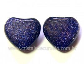 Par Coração Pedra Estrela Para Montagem Brinco Reff CB2618