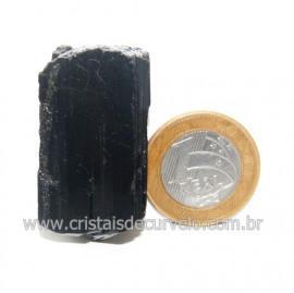 Turmalina Preta Pedra Extra Firme e Dura Natural Cod 119424