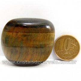 Olho de Falcão Rolado Pedra Natural Origem África Cod 127008