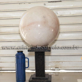 Bola Cristal Gigante 94kg Quartzo Pedra Natural Cod 121081