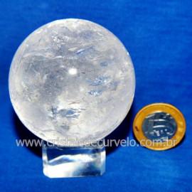 Bola Cristal Comum Qualidade Pedra Uso Esoterico Cod 119774