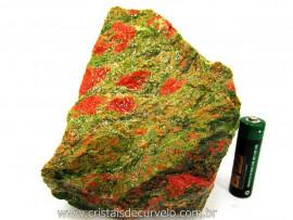 Unakita Pedra Natural De Garimpo Em Bruto Para Colecionador e Esoterismo Cod 886.3