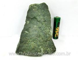 Basalto Verde Bruto Pedra Pra Colecionador ou Estudante de Minerais Geologia Cod 345.1