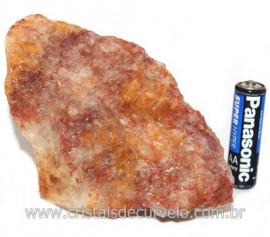 Hematoide Vermelho Natural Quartzo Cristalizado Cod 121500