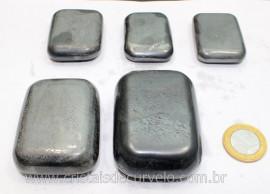 1 kg Massageador Sabonete Hematita Massagem Terapeutica Com Pedras