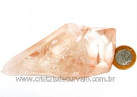 Drusa Cristal Tangerina Bruto Ideal Colecionador Cod 108941