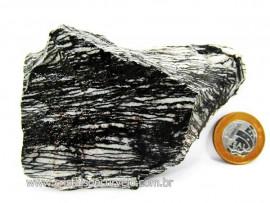 Jaspe Net Pedra Tamanho Pequeno de Garimpo Com Listas Natural Cor Cod 238.1