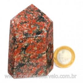 Peso de Papel Pedra Unakita Preta Para Escritório Cod 126565