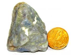 Safira Pedra Natural Matriz Corindon Bruto Garimpo Cod SB5243