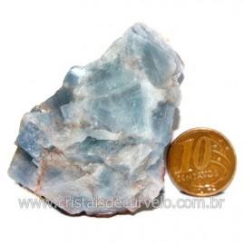 Calcita Azul Pedra Natural Ideal P/ Colecionador Cod 123732