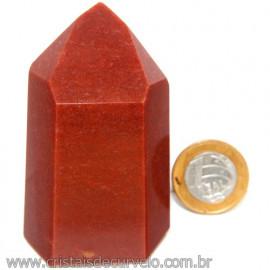 Peso de Papel Para Escritorio Quartzo Vermelho Cod 113273