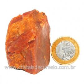 Aragonita Vermelho Pedra Bruto Mineral Natural Cod 123323