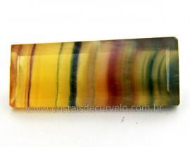 Fluorita Gema Pedra Natural Montagem Joias Finas Cod GF8125