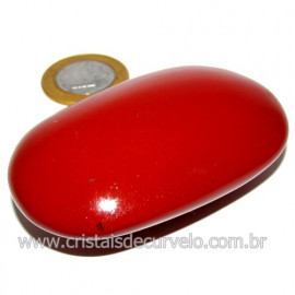 Sabonete Massageador Jaspe Vermelho Pedra Natural Cod 114297