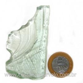 Obsidiana Verde Pedra Vulcanica Ideal P/ Coleçao Cod 128426