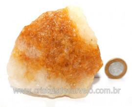 Hematoide Amarelo Pedra Bruto Quartzo Natural Cod 121524