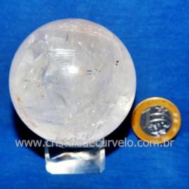 Bola Cristal Comum Qualidade Pedra Uso Esoterico Cod 117830