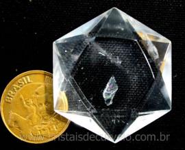 Estrela De Davi Ou Selo de Salomão Cristal de Quartzo 5 a 20 Gr Reff 110778