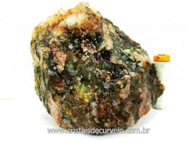 Riolita Rocha Vulcanica Pedra de Garimpo Bruto Mineral de Coleção cod 581.4