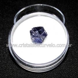 Safira D'Água Pedra Genuina P/ Coleçao no Estojo Cod 114719