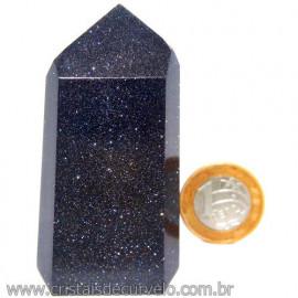 Ponta Pedra Estrela Azul com Pigmento Cintilante Cod 113510