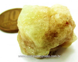 Brasilianita Pedra Bruto Natural Mineral de Garimpo Cod 54.4
