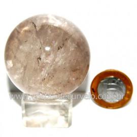 Esfera Quartzo Cristal Tok Fumê Extra Quartzo Fumado 119812