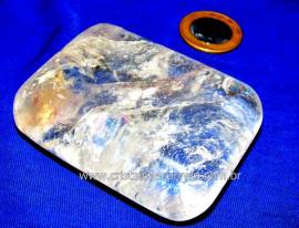 Sabonete Massageador Cristal Pedra Natural Garimpo Cod SC3525