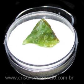 Opala Verde Pedra Genuina Para Coleçao no Estojo Cod 115876