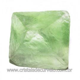 Fluorita Cubica da Mongólia Pedra Natural Pra Coleção 115902
