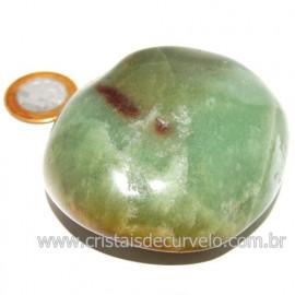 Massageador De Seixo Pedra Quartzo Verde Natural Cod 123844