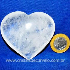 Coração Cristal Comum Qualidade Natural Garimpo Cod 117465