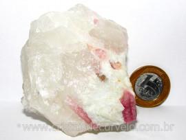 Turmalina Rosa ou Vermelha Pedra Pequena Extra Cod TR5293