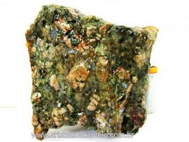 Riolita Rocha Vulcanica Pedra de Garimpo Bruto Mineral de Coleção cod 660.2