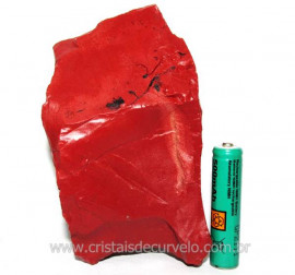 Jaspe Vermelho Pedra Natural Ideal P/ Esoterismo Cod 104267