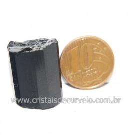 Turmalina Preta Pedra Extra Firme e Dura Natural Cod 119423