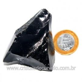 Obsidiana Negra Mineral Vulcanico Pedra Natural Cod 123965