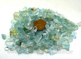 Topazio Azul Pedra Rolado Miudo Pacotinho 100 Gr Mineral Natural