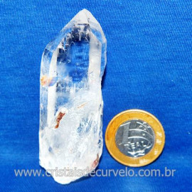 Lemuria Pequeno Quartzo Comum Cristal Lemuriano Natural Cod 119463